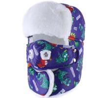 冬季保暖防寒宝宝雷锋帽  儿童帽子  冬天护耳口罩  男童女童帽