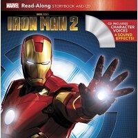 Iron Man 2 Read-Along Storybook and CD 《钢铁侠2》朗读书+CD