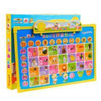 小笨熊学前知识*有声点读画板益智玩具涂写 有声图书 画板幼儿园启蒙早教玩具书 0-1-2-3-4-5-6岁儿童认知识字全套发声语音书籍