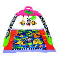 【当当自营】炫梦奇 音乐健身架 多功能早教机儿童婴儿益智玩具灯光音乐 音乐森林爬行毯健身架