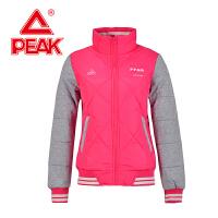 Peak/匹克情侣女款厚棉夹克冬季新品保暖时尚休闲外套F554338