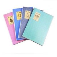 晨光B5胶套本96页(格纹情调)APY4F406 笔记本记事本 颜色随机发货