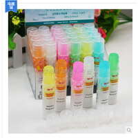 韩国文具 可爱彩色果冻式固体胶棒 点石透明胶棒 手工胶 8克胶棒