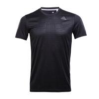 Adidas阿迪达斯 2017新款男子运动休闲跑步训练短袖T恤 BP7430/BP7416