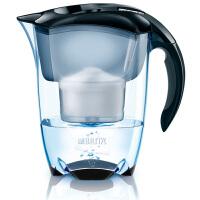 碧然德(Brita)净水器净水壶滤水壶滤水杯(Elemaris3.5L套装) 1壶1芯 黑色