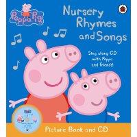 Peppa Pig: Nursery Rhymes and Songs 英文原版 粉红猪小妹:儿歌 含CD