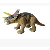 欢乐童年 文盛红外线儿童玩具三角电动恐龙玩具唱歌跳舞益智玩具