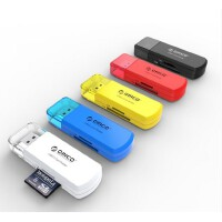 ORICO CTU33五彩USB3.0迷你micro sd卡 SDHC TF卡 相机高速读卡器