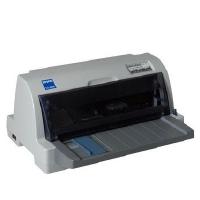 EPSON/爱普生 LQ-610K 平推针式打印机 税控发票针式打印机营改增24针平推票据快递单连打