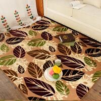 乐唯仕印花珊瑚绒地毯欧式地毯卧室客厅茶几办公地毯地垫门垫脚垫现代简约榻榻米地毯飘窗垫床边毯