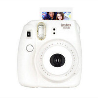 【可礼品卡支付+包邮】Fujifilm/富士 instax mini8一次成像相机白色 拍立得胶片 趣奇相机