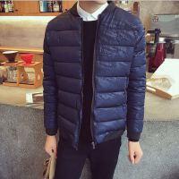 冬季男士棉衣棉服 男士羽绒服 韩版修身加大码男装