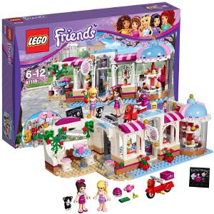 [当当自营]LEGO 乐高 好朋友系列 心湖城纸杯蛋糕咖啡厅 积木拼插儿童益智玩具 41119