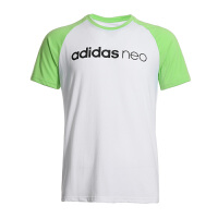 Adidas阿迪达斯 2017夏季新款男子NEO运动休闲短袖上衣 BK6921/BQ0518