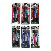 智高 自由搭配 重机版10组配件 V12转转笔zg-5095(两支装) 颜色随机发