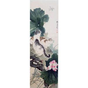 刘奎龄 双猫图