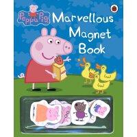Peppa Pig: Marvellous Magnet Book 英文原版 粉红猪小妹:磁铁书