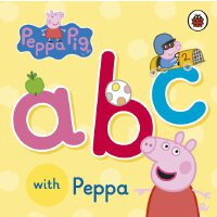 Peppa Pig: ABC with Peppa 英文原版 粉红猪小妹:学ABC