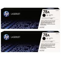 惠普原装正品 hp CE278A黑色激光打印硒鼓 CF278AF双包装 hp78A墨粉盒 惠普hp LaserJet P1566 P1606dn M1536dnf打印机及一体机墨盒