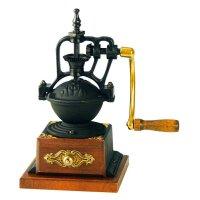 台湾原装BE8701铁轮手摇磨豆机 咖啡研磨机 家用磨咖啡豆粉碎机器