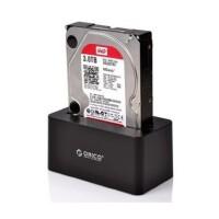 奥睿科ORICO 6619US3-BK USB3.0高速2.5/3.5寸SATA串口移动硬盘盒 底座