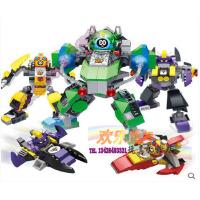 欢乐童年 星钻积木赛尔号机甲套装/飞船 变形合体拼装拼插塑料玩具80225