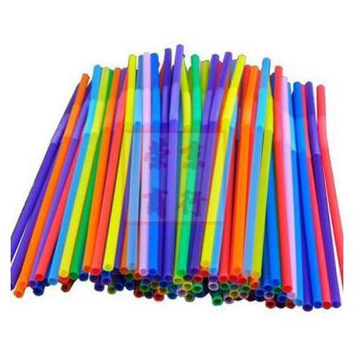 手工用吸管 diy创意材料 彩色吸管 艺术吸管_黑色