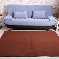 乐唯仕纯色超柔珊瑚绒地毯卧室客厅茶几地毯茶几办公地毯地垫门垫脚垫现代简约榻榻米地毯飘窗垫床