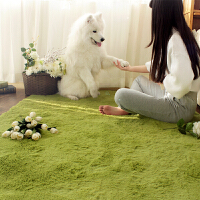 乐唯仕高毛丝绒丝毛卧室客厅茶几地毯茶几办公地毯地垫门垫脚垫现代简约榻榻米地毯飘窗垫床边毯