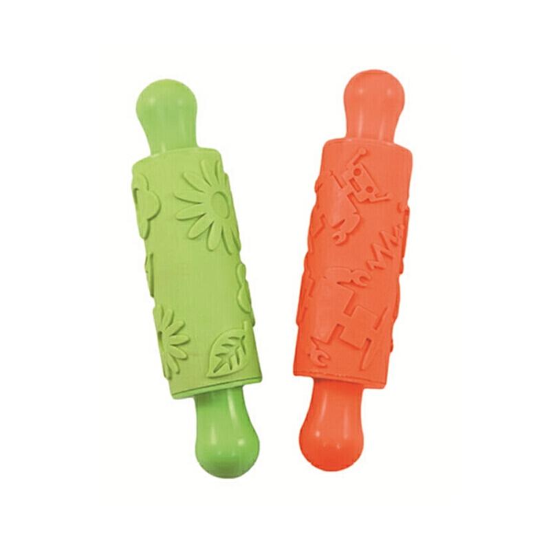 幼儿园彩泥粘土橡皮泥工具儿童手工制作创意diy火箭橡胶擀面杖