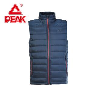 Peak/匹克情侣男款棉马甲冬季新品保暖防风棉马夹F454087