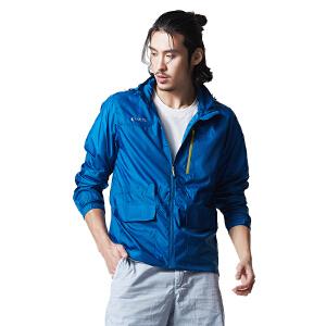 AIRTEX/亚特 可收腰多口袋 商务旅行皮肤风衣男款 英国时尚户外