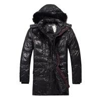 思莱德灰鸭绒男装冬季羽绒服外套29-1-4-411412002010