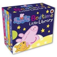 Peppa Pig: Bedtime Little Library 英文原版 粉红猪小妹:睡前小小图书馆 4本套装