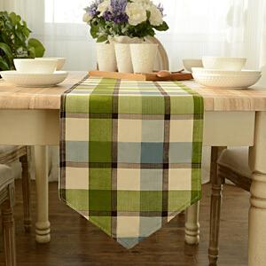 乐唯仕美式田园加厚纯色简约桌布布艺茶几布餐桌布台布盖巾桌旗餐垫