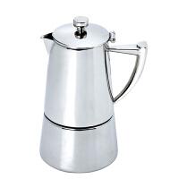 Tiamo 瑞特摩卡壶 不锈钢意式家用煮咖啡壶6人份 HA1570