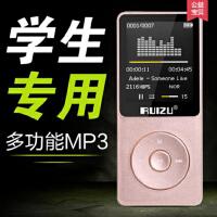【包邮】mp3播放器MP4随身听复读英语锐族X02运动MP3 MP4 音乐播放器 迷你随身听 学生有屏插卡 录音笔