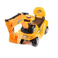 麦宝创玩 轮式仿真型挖土机助步车可骑可坐儿童玩具挖机 工程车