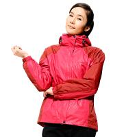 AIRTEX亚特冲锋衣女三合一秋冬防风保暖户外两件套防水登山服大码