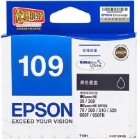 原装 爱普生/EPSON 109  墨盒 爱普生/EPSON T1091 黑色墨盒 爱普生/EPSON T1092 青色墨盒 爱普生/EPSON TT1093 洋红色墨盒 爱普生/EPSON T1094 黄色墨盒  ME30 ME300 ME360 ME510 600F 650FN 700FW 110...