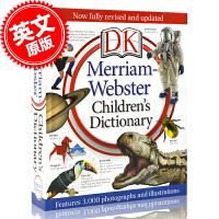 [现货]英文原版 DK 韦氏儿童图片字典 Merriam-Webster Children's Dictionary 精装 全彩 大开本 新版 含3000幅图片与解释说明