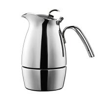 Tiamo不锈钢戴依雅摩卡壶 家用意式煮咖啡壶6人份HA2273