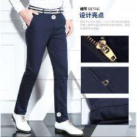 富贵鸟休闲裤男冬季修身新款加厚男裤青年潮流黑色直筒男士长裤子