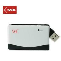 飚王SSK多合一读卡器 直读CFSDTFM2 多功能高速方便