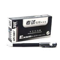 乐普升353考试专用中性笔 签字笔 黑色考试王0.5mm 一口价是一盒的价格