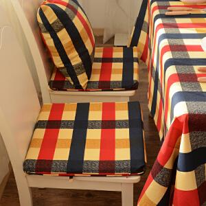 乐唯仕帆布系列简约风简约居家布艺椅垫餐椅垫坐垫泡泡垫带海绵