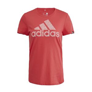 ADIDAS阿迪达斯女装 运动休闲短袖T恤  AY5002 现