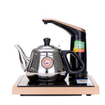 金灶d18茶具电磁炉 自动上水加水器 触摸抽水自吸烧水壶
