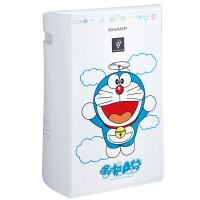 夏普(SHARP)空气净化器 KC-GD10-DM哆啦A梦版 杀菌去霾除甲醛PM2.5加湿型家用办公室用