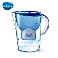 BRITA碧然德滤水壶 Marella金典系列3.5L蓝色 净水壶净水器包邮